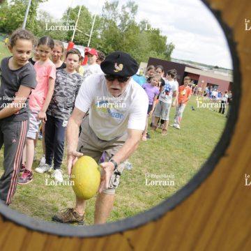"""PHOTOS. Saint-Avold : Transmettre les valeurs du rugby"""