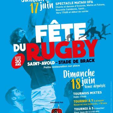 Fete du Rugby à St Avold le 18 juin