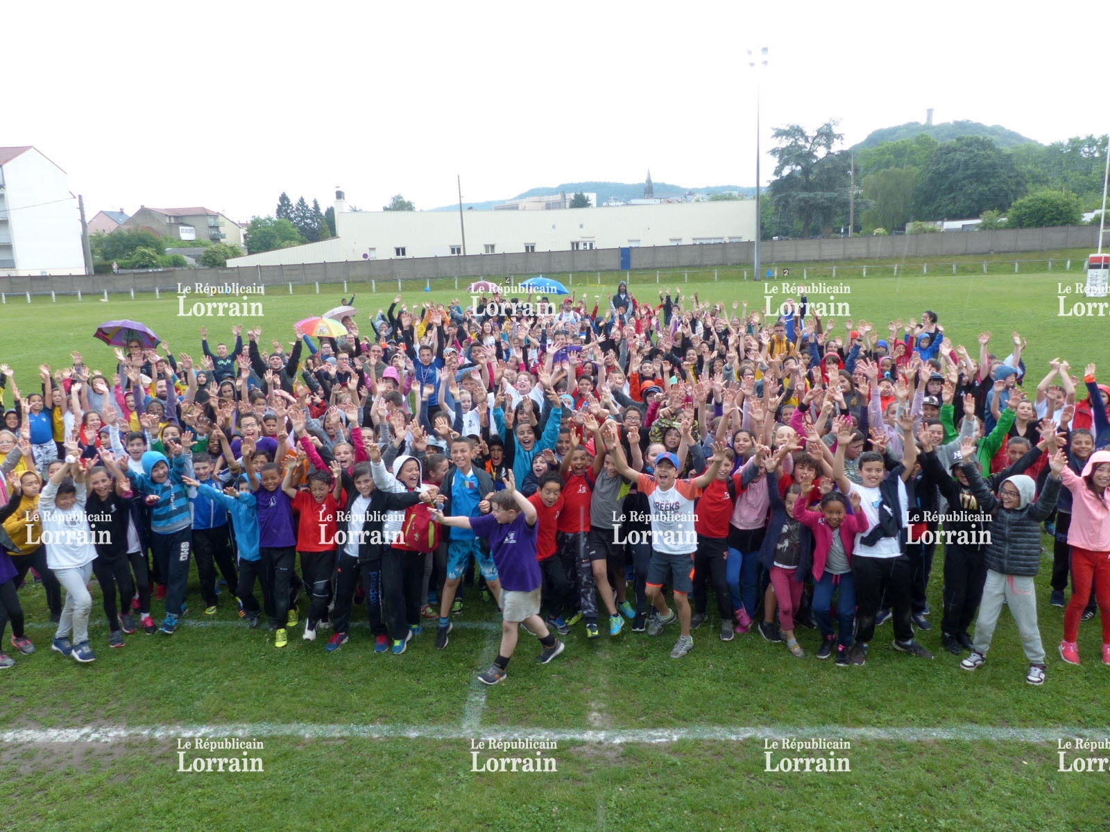 Rugby interscolaire à Forbach