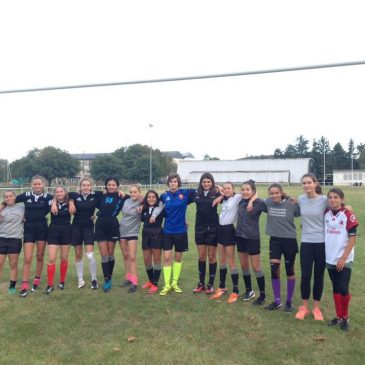 Premier entraînement U15F et U18F
