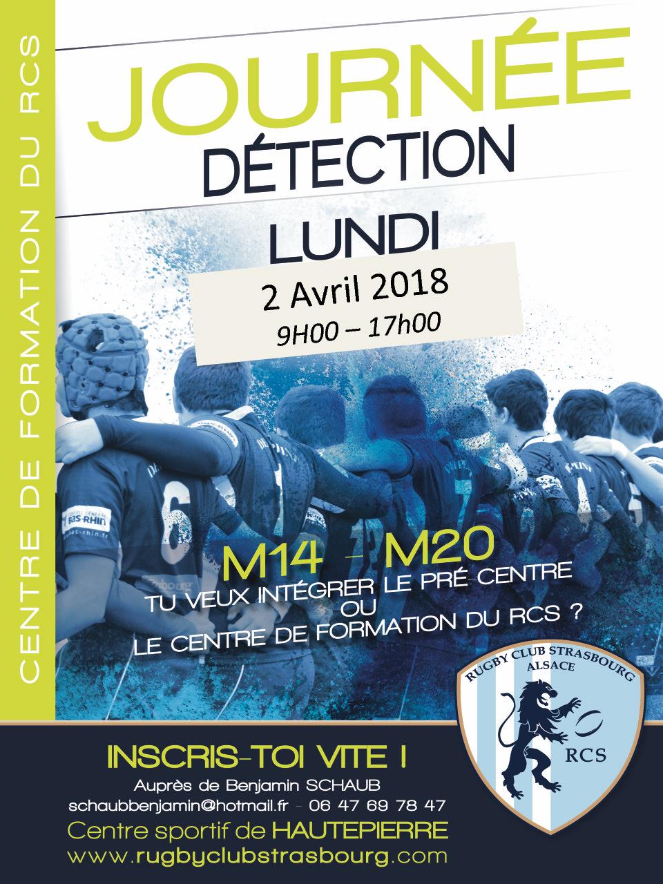 Journée détection RC Strasbourg