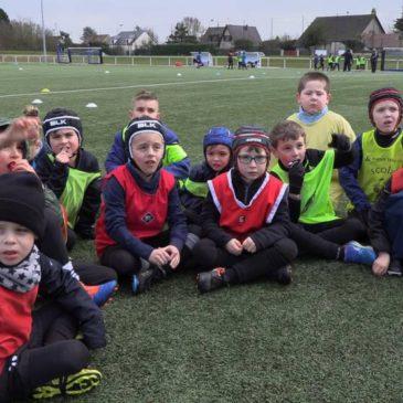 Ecole de Rugby : Séance atelier n°4
