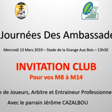 Journée des Ambassadeurs au RC Metz