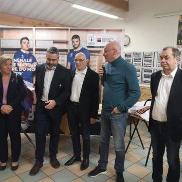 Le président de la FFR en visite en Moselle